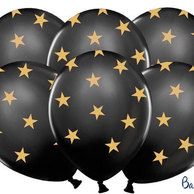 Ballonnen zwart-goud